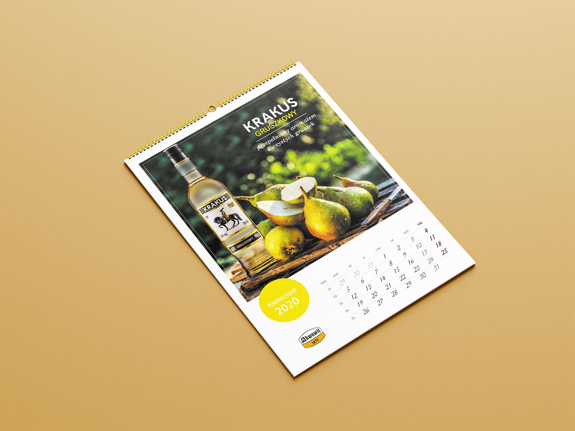 dd dobra drukarnia, kalendarz wiszący, kalendarz 6 kartkowy, kalendarz reklamowy