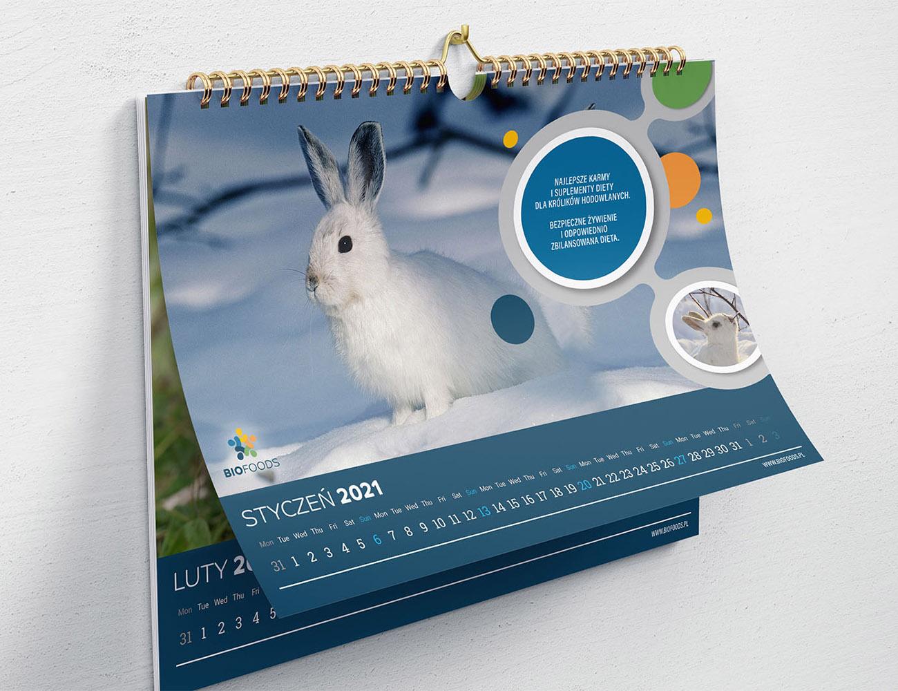 kalendarze scienne dobra drukarnia, kalendarze personalizowane, kalendarze wrocław